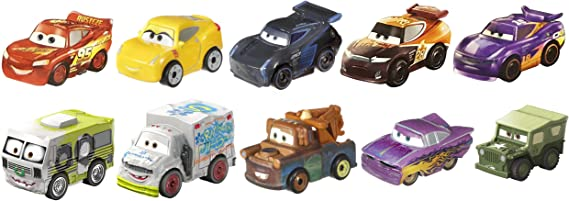 Disney Pixar Cars Mini Racers 10-Pack