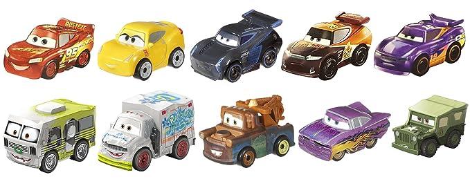 Review Disney Pixar Cars Micro Racers #1 Vehicle, 10 Pack