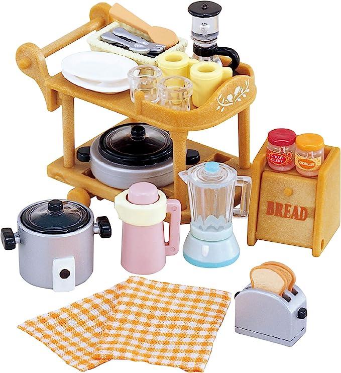 Amazon.es: Sylvanian Families- Animales Set utensilios para cocina ...