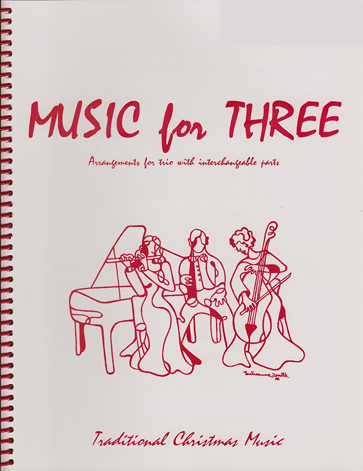 Music for Three,Traditional Christmas Favorites - Keyboard or Guitar Last Resort Music Publishing 55140