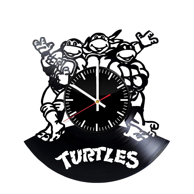 Reloj de Vinilo con diseño de Tortugas Ninja - TMNT Art ...