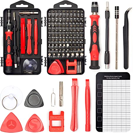 Precision Screwdriver Set Portable 25 in1 Metal Screwdriver Repair Tool Set for Mobile Phone Laptop PC Watches Spectacles Glasses