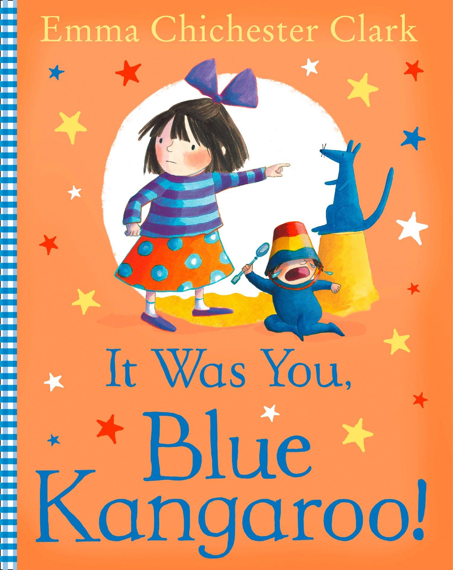 Read Online It Was You, Blue Kangaroo pdf