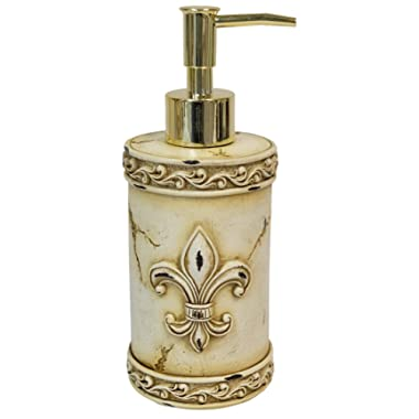 LL Home FDL Beige Pump Bottle Soap Dispenser