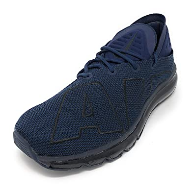 6fc5677a451c Image Unavailable. Image not available for. Color  Nike Air Max Flair  942236 402 Obsidian Black-Obsidian ...
