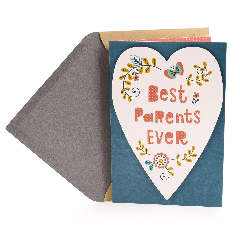 Amazon Hallmark Anniversary Greeting Card For Parents Best