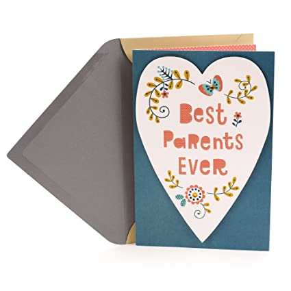 Amazon Hallmark Anniversary Greeting Card For Parents Best Office Products