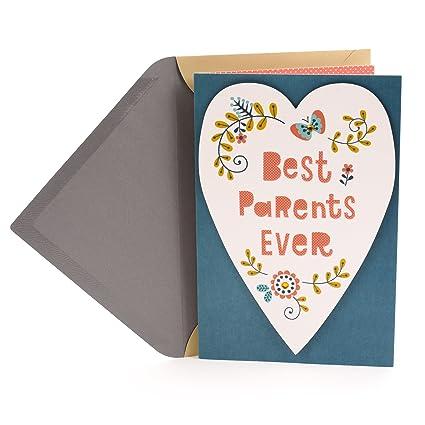 Amazon hallmark anniversary greeting card for parents best hallmark anniversary greeting card for parents best parents m4hsunfo