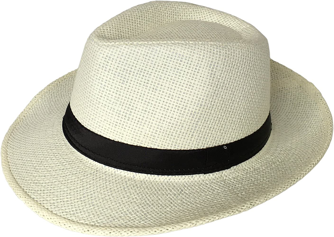 Miobo Sombrero de paja Panamahut Mountain Stroh sombrero de paja sombrero de verano