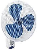 Bestron AWF40REM Ventilatore a Parete con Telecomando, Bianco