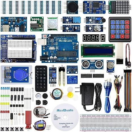 Amazon.com: rexqualis Arduino UNO R3 Kit: Computers ...