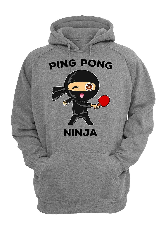 ShutUp Ping Pong Ninja Sudadera Unisex X-Large: Amazon.es ...