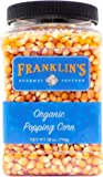 Franklin's Organic Popping Corn (28 oz). Make Movie Theater Popcorn at Home.
