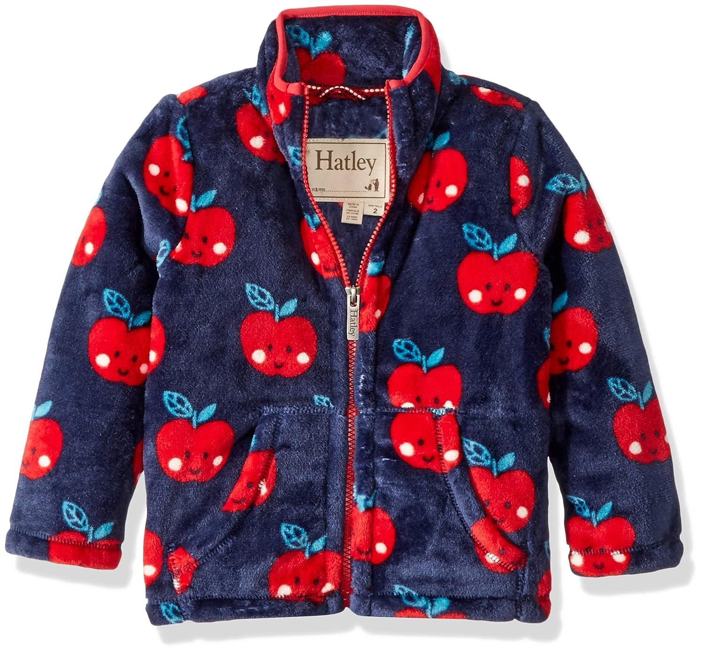 Hatley Girls Fuzzy Fleece Full Zip Jackets