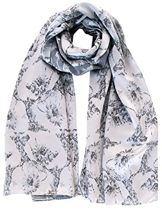 elizabetta italian silk evening formal shawl wrap scarf silver grey Women's Evening Shawls and Wraps elizabetta italian silk evening formal shawl wrap scarf silver grey