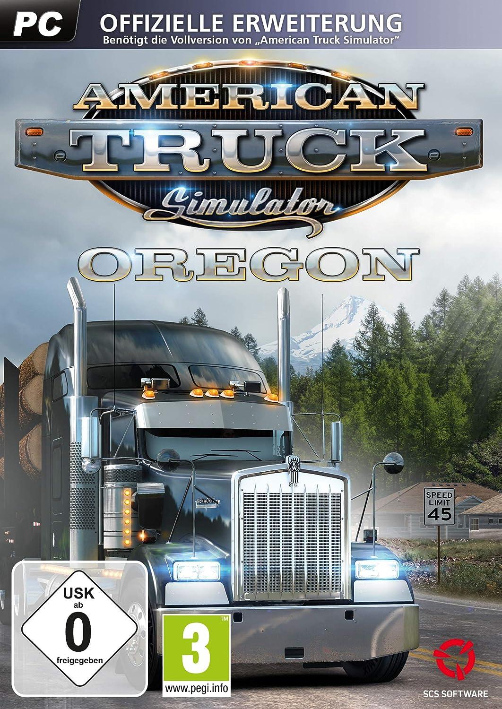 American Truck Simulator: Oregon (Add On) PC [Importación alemana]: Amazon.es: Videojuegos