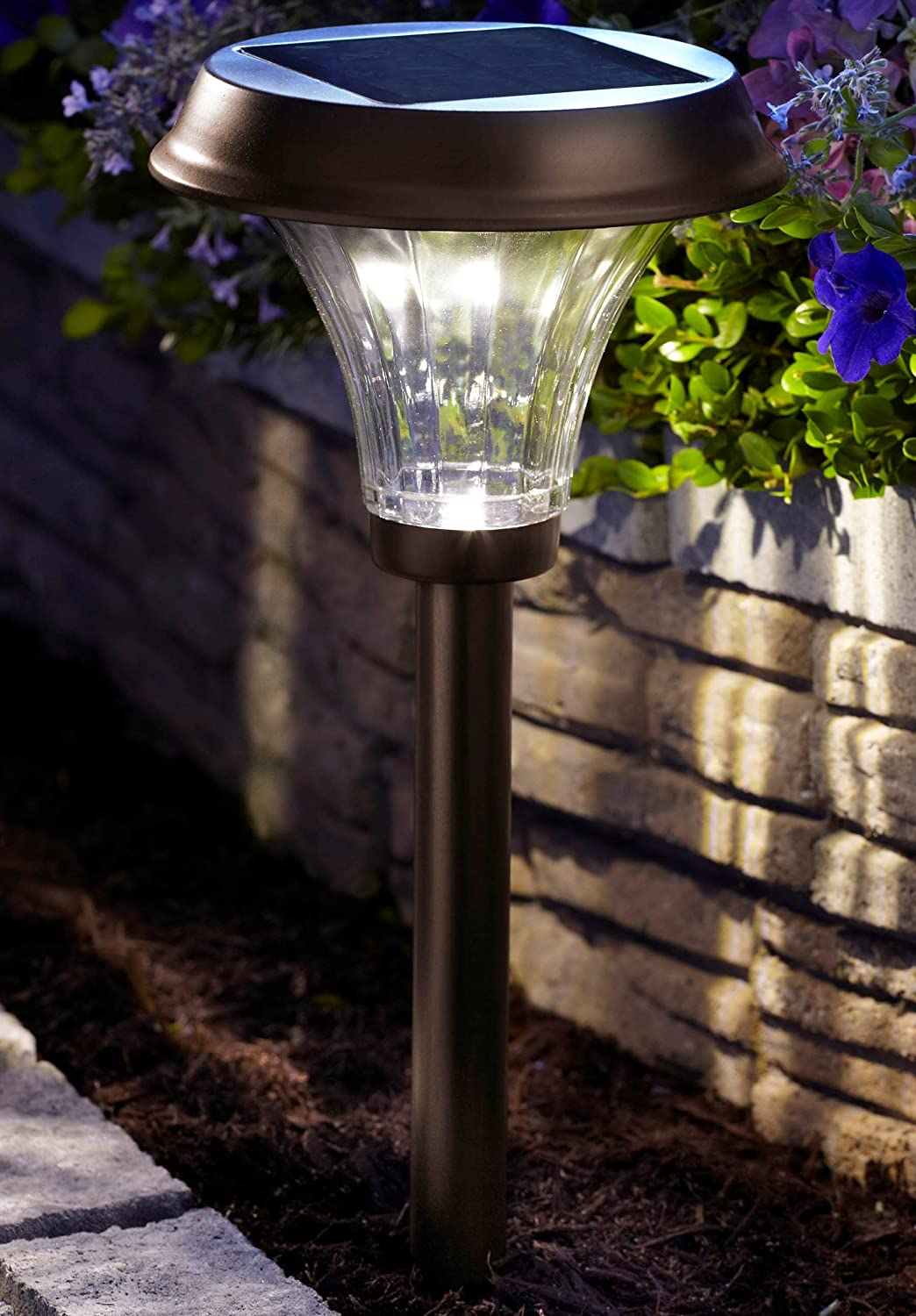 Top 15 best solar path lights in 2018 reviews and top picks moonrays richmond solar led path light workwithnaturefo