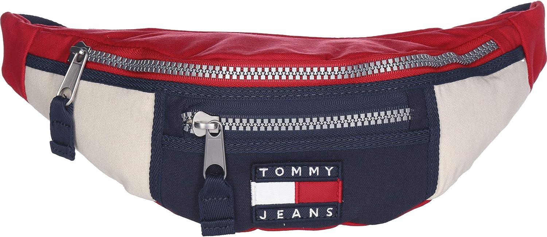 Riñonera Tommy Jeans Heritage Marino Hombre Mujer