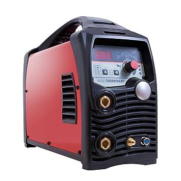 Máquina de soldar Gala Gar 22300200TACDC Smart 200 TIG ACDC: Amazon.es: Bricolaje y herramientas