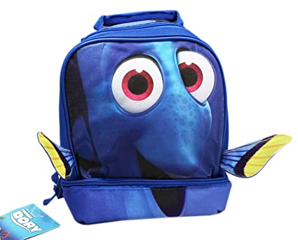 e6534ec6d797 Amazon.com: FINDING DORY DROP BOTTOM LUNCH BAG wFIN: Kitchen & Dining