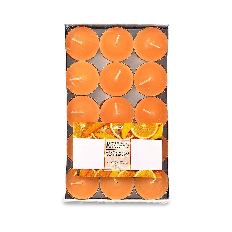 Pajoma Bougies Orange, Lot DE 30 91026