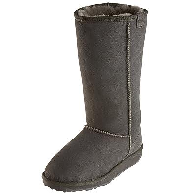 8ea8167b579 EMU Australia Womens Stinger Hi Winter Real Sheepskin Boots in Charcoal  Size 5