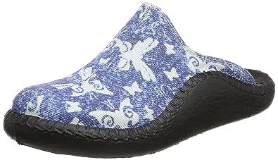 Romika Unisex-Kinder Mokasso 136 Pantoffeln, Blau (Blau), 35 EU