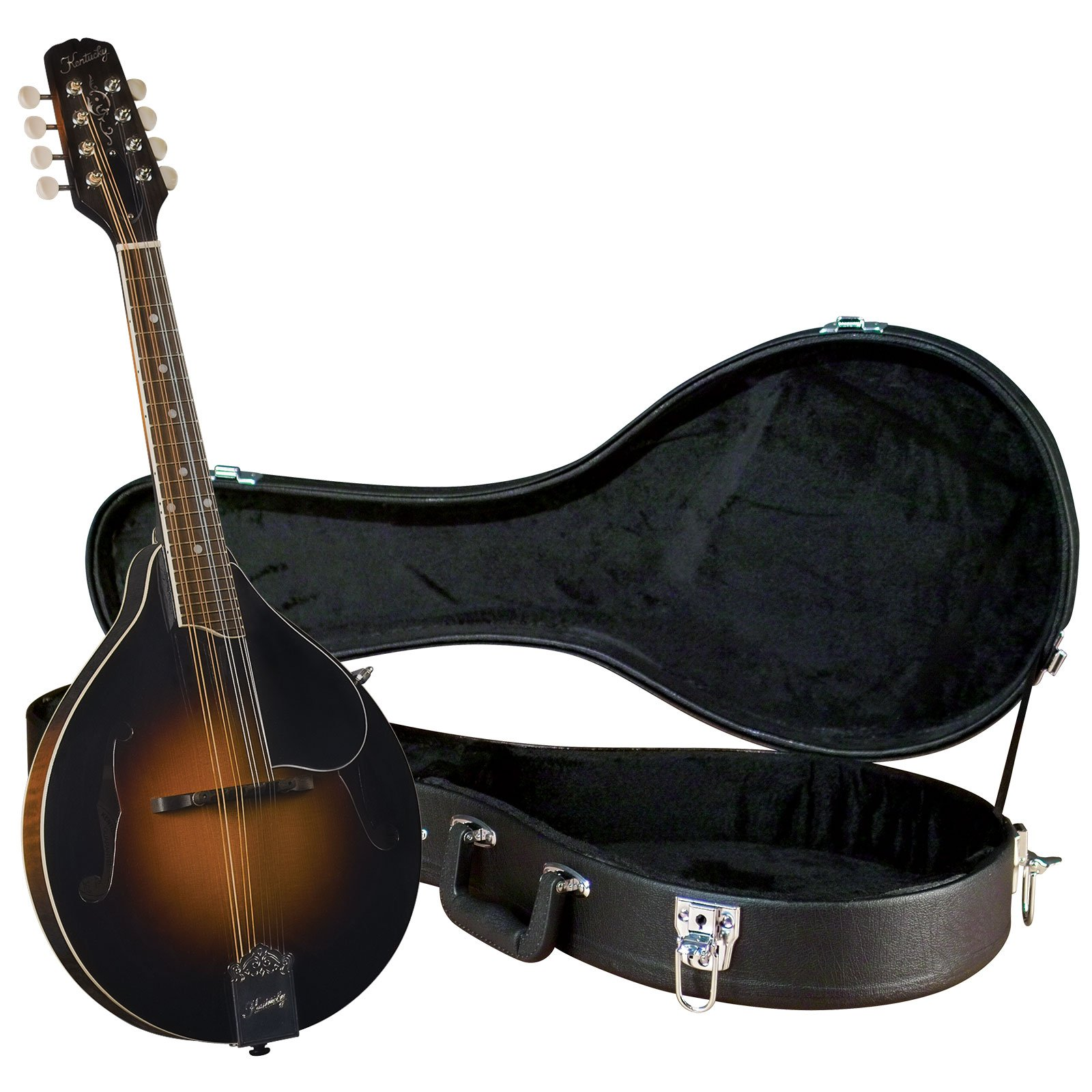 Kentucky KM-250 Artist A-model Mandolin with Deluxe Case - Sunburst