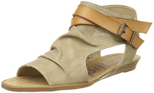 f6a4a368615f Blowfish Women s Balla Ankle Strap Sandals  Amazon.co.uk  Shoes   Bags
