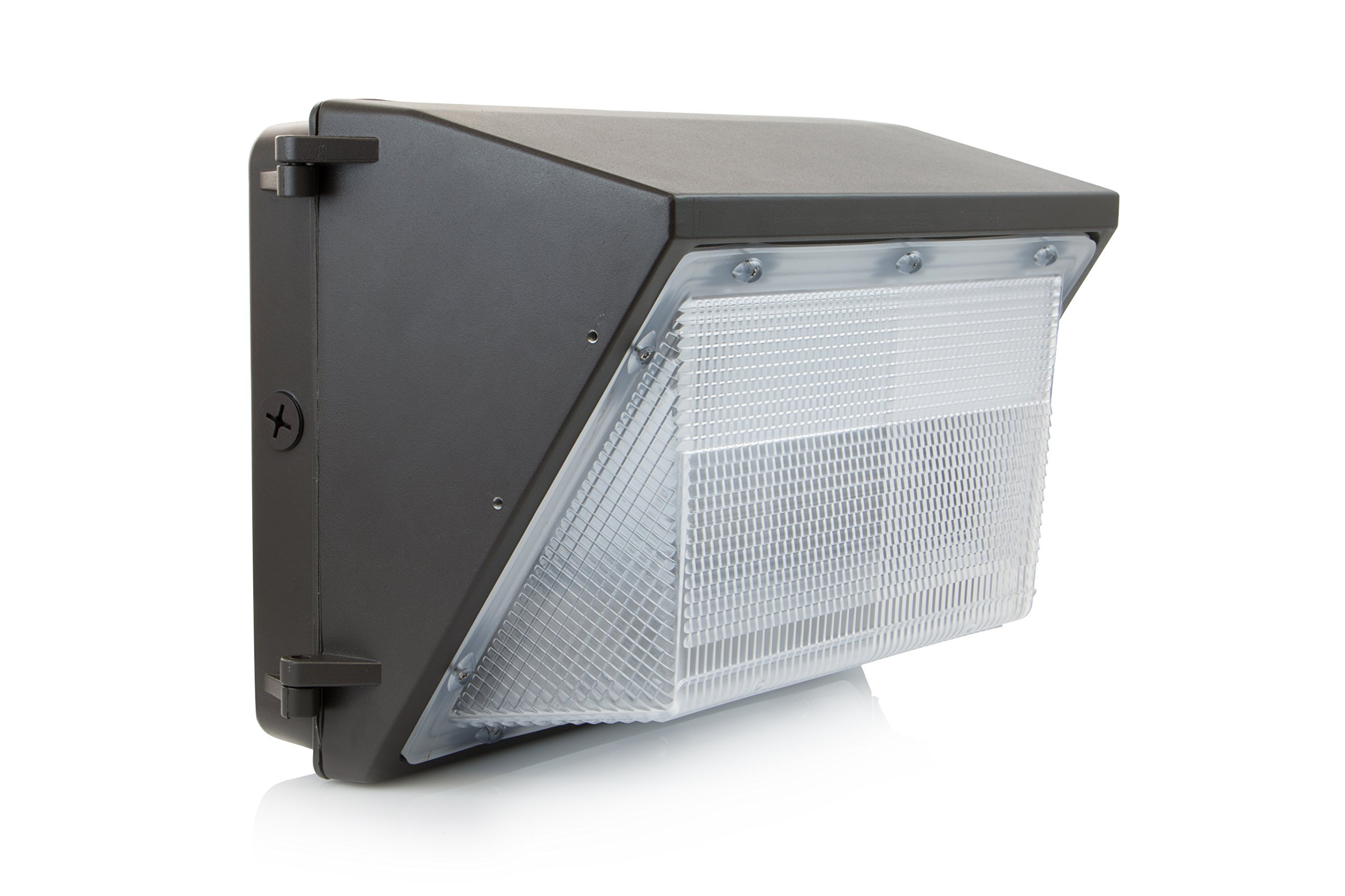 HyperSelect 60W LED Wallpack Light, Hyperikon, 300W HPS/HID Replacement, 5000K (Crystal White Glow), 5000 lumen, UL Listed