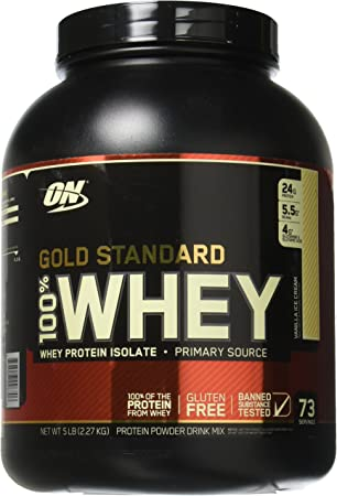 Optimum 100% Whey Gold Standard 2,3 kg - Helado de Vainilla