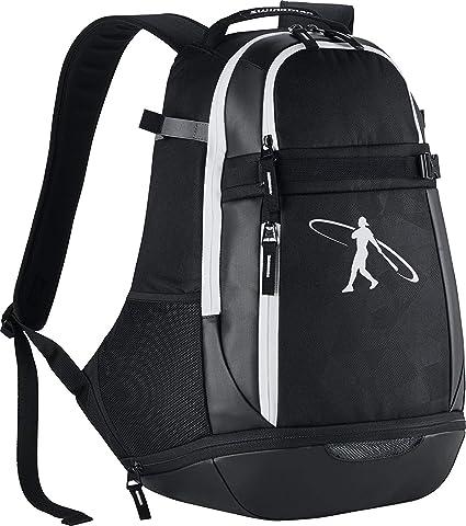 26c70c6639 Amazon.com  Men s Nike Swingman 3.0 Baseball Backpack Black White Size One  Size  Clothing