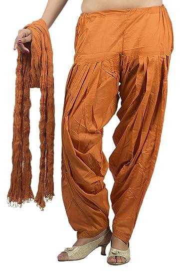 Rama Women's Cotton Dress Material (14RAMA14215701_Free Size_Brass) Women's Ethnic Unstitched Fabric at amazon