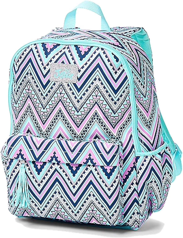 Amazon Com Justice School Backpack Chevron Kids Backpacks