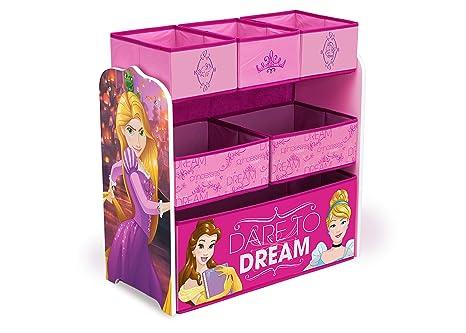 Buy Delta Children Multi Bin Disney Princess Toy Organizer Online At