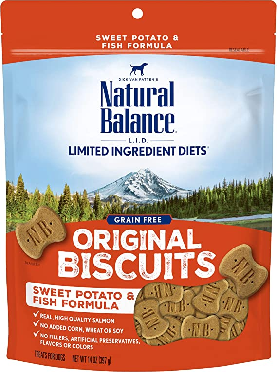 Natural Balance L.I.D. Limited Ingredient Diets Dog Treats | Amazon
