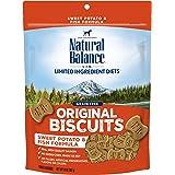 Natural Balance L.I.T. Limited Ingredient Treats Dog Treats, Sweet Potato & Fish Formula, 14 Ounce Pouch, Grain Free
