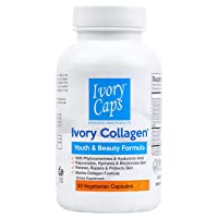 Ivory Collagen - Youth and Beauty Formula, Marine Collagen with Phytoceramides,...