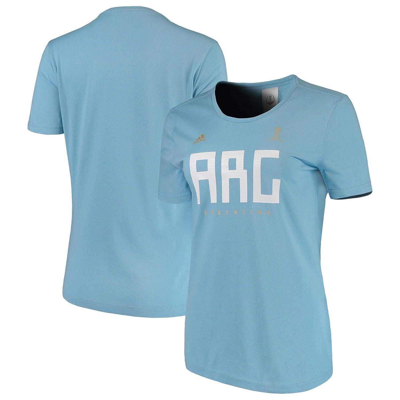 adidas Camiseta de fútbol de la Mujer Argentina, Mujer ...