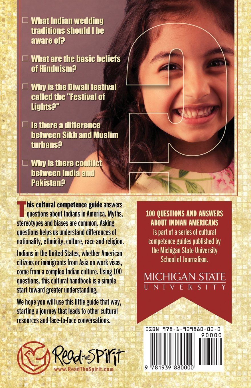 100 Questions and Answers about Indian Americans: Michigan State School of  Journalism: 9781939880000: Amazon.com: Books