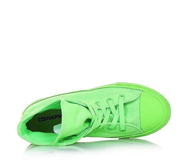 CONVERSE niño / o altas zapatillas de deporte 656852C CTAS HI VERDE FLUO talla 38 Verde fluo qwCbGlue