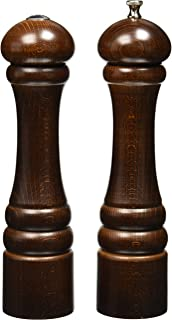"""product image for Chef Specialties 10"""" Imperial Pepper Mill and Salt Shaker Set, Walnut"""