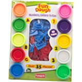 Funskool-Fundough Numbers Letters N Fun, Multi Colour