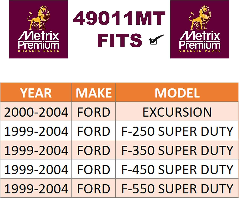 For K80796 2000-2004 Ford EXCURSION 1994-2004 Ford F-250 /& F-350 /& F-450 /& F-550 SUPER DUTY METRIX PREMIUM 49011MT Front Pitman Arm Made in TURKEY
