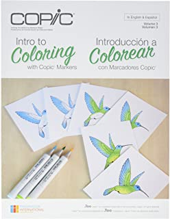 Copic Marker CBINTRO Intro To Coloring With Book