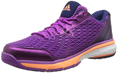 17cc6cb3d adidas Energy Boost Volley Womens Indoor Court Sneakers Shoes-Purple-10.5