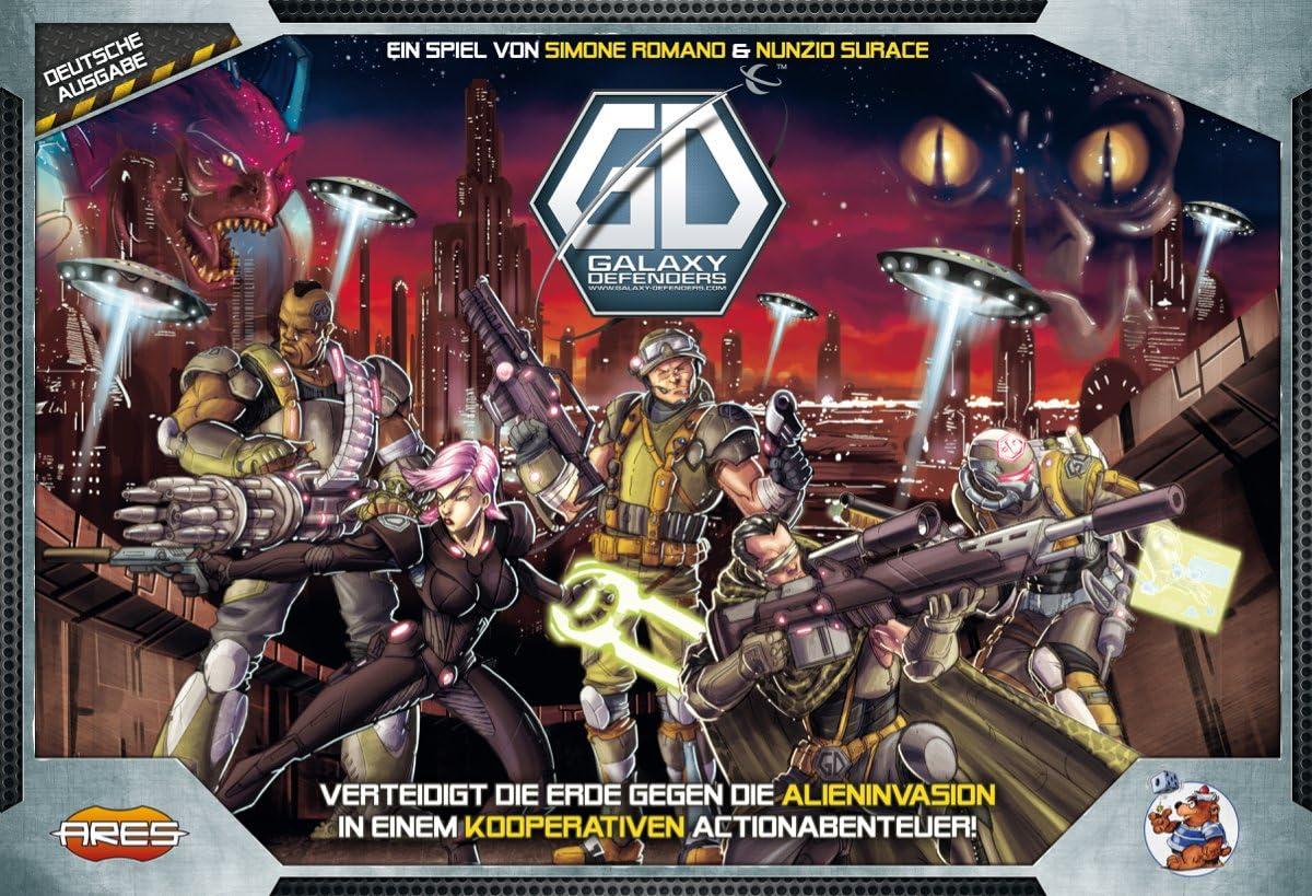 Ares Games argd0038 Galaxy Defenders: Amazon.es: Juguetes y juegos