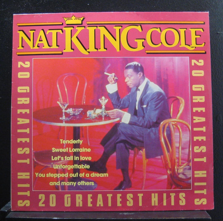 Nat King Cole Nat King Cole 20 Greatest Hits Lp Vinyl Record Amazon Com Music
