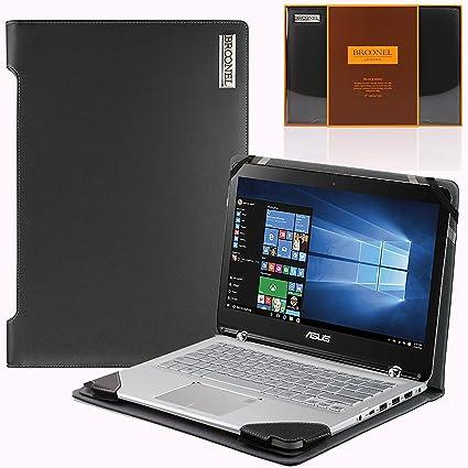 Navitech Real Leather Ultrabook Cases Negro Negro 4 -Lenovo ...