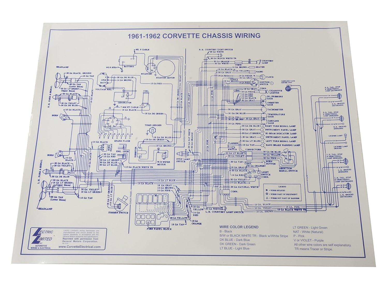 1962 corvette wiring diagram